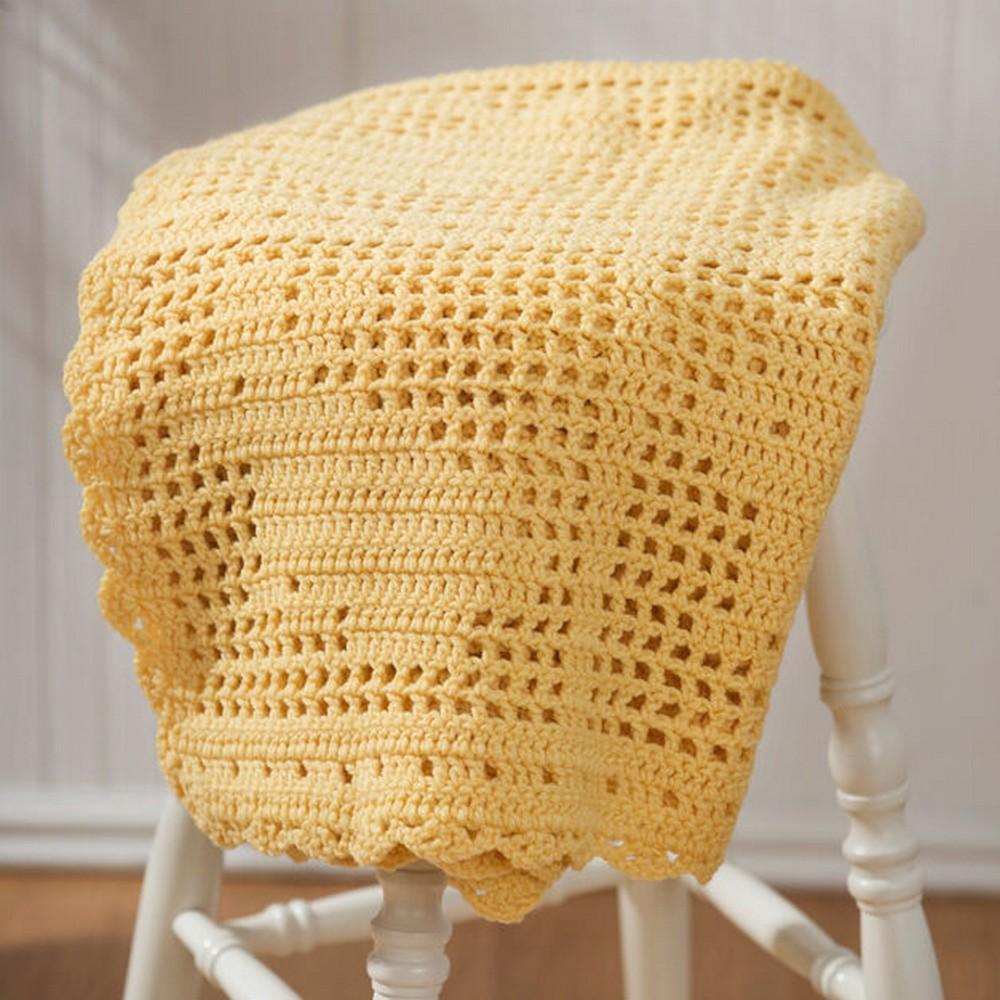 Crochet Bunny Blanket Free Pattern
