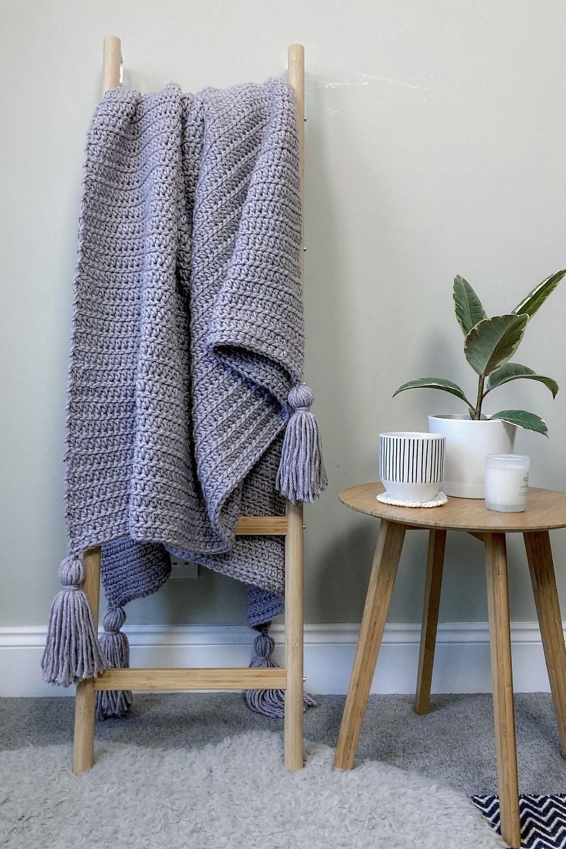 Crochet Twilight Haze Blanket Free Pattern