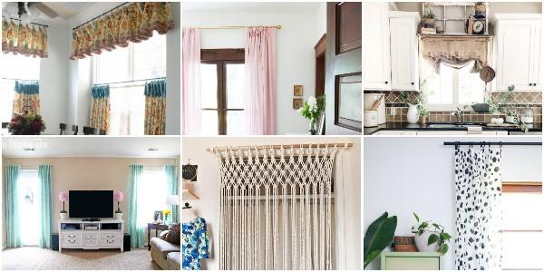 DIY Curtains Anyone Can Make 1