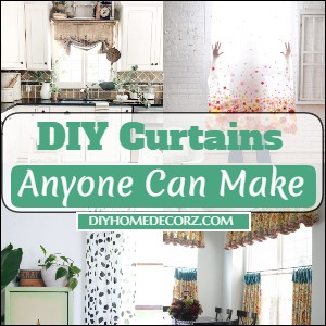 DIY Curtains Anyone Can Make