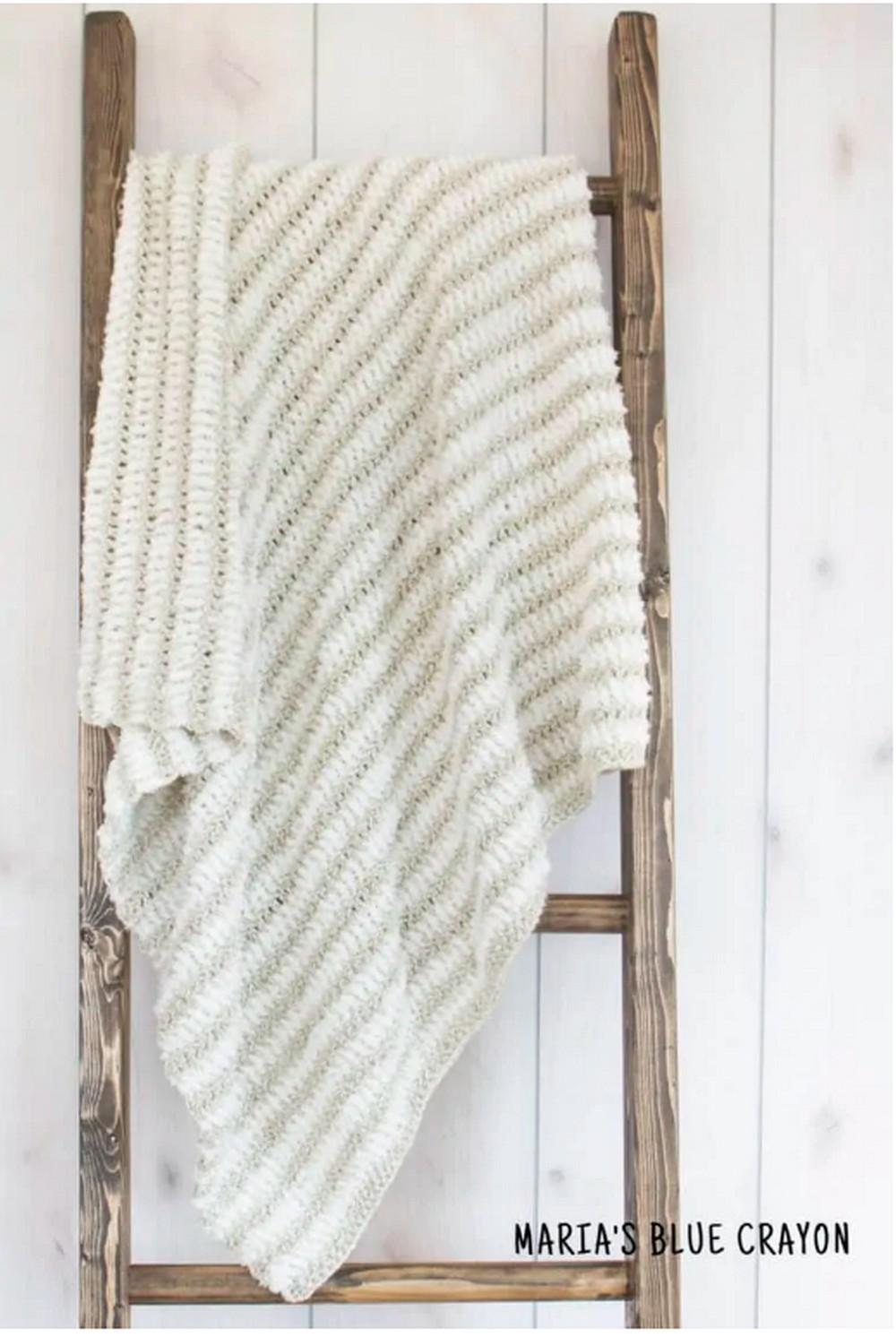 Easy Crochet Blanket Pattern In All Sizes