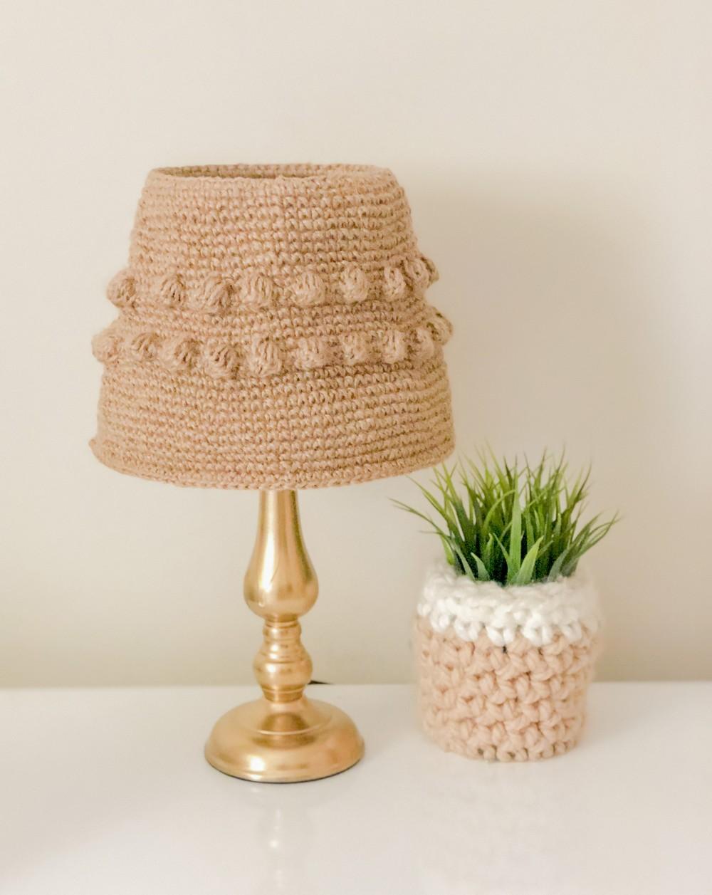 Free Crochet Best Lampshade Pattern