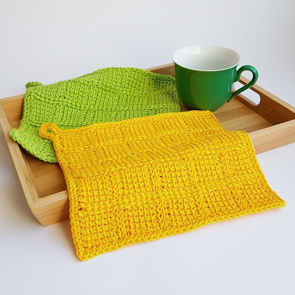 Free Crochet Dishcloth Karo Pattern