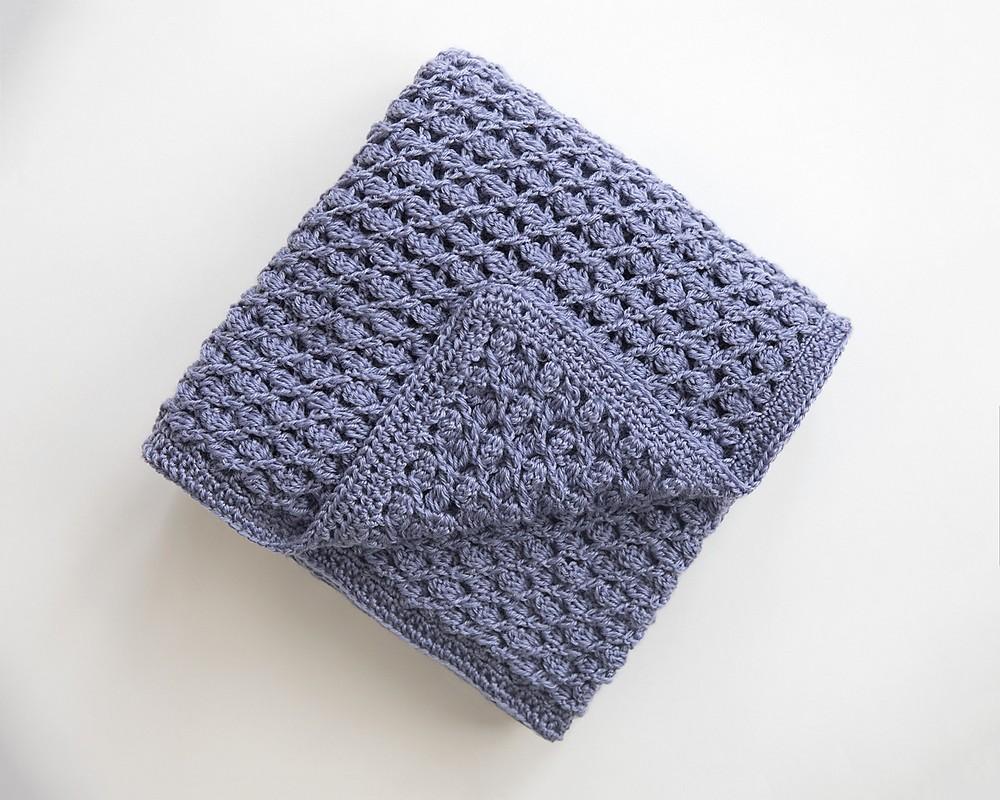 Free Crochet Heirloom Baby Blanket Pattern