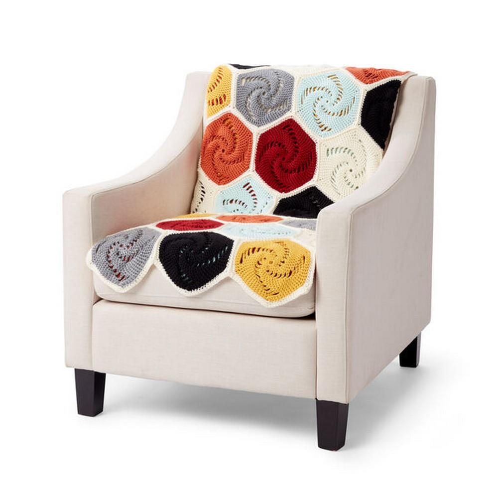 Free Crochet Hexagons Blanket Pattern