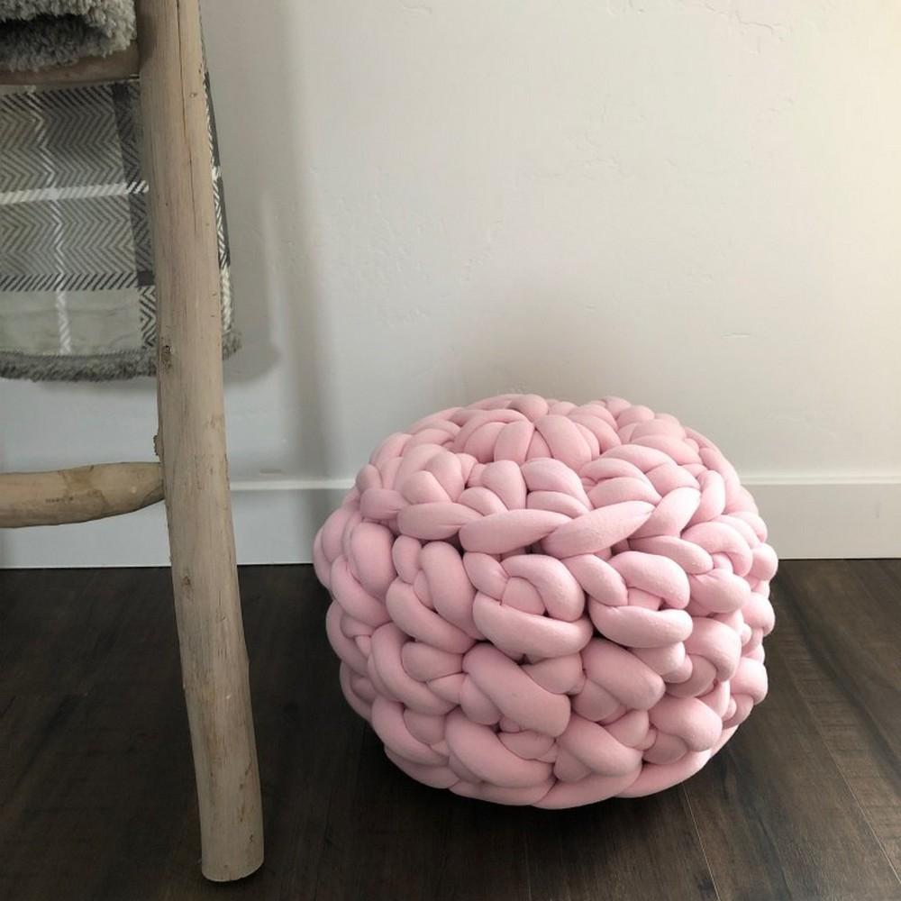 Free Crochet Jumbo Floor Pouf Pattern