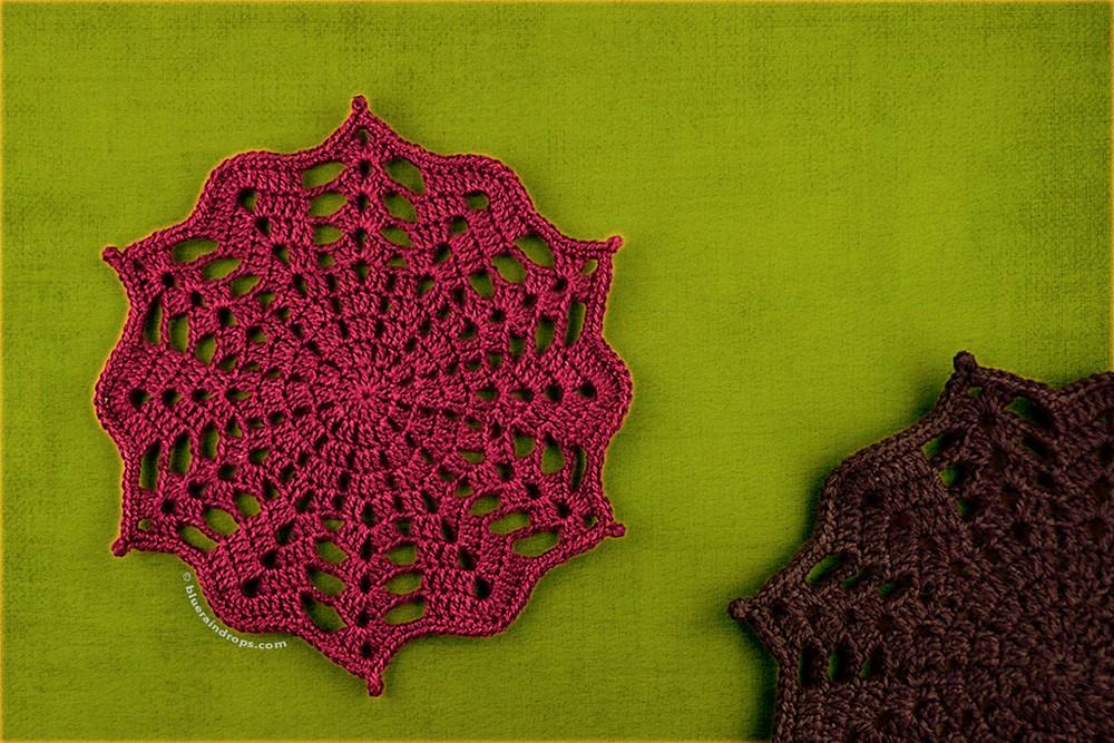 Free Crochet Mini Doily Pattern