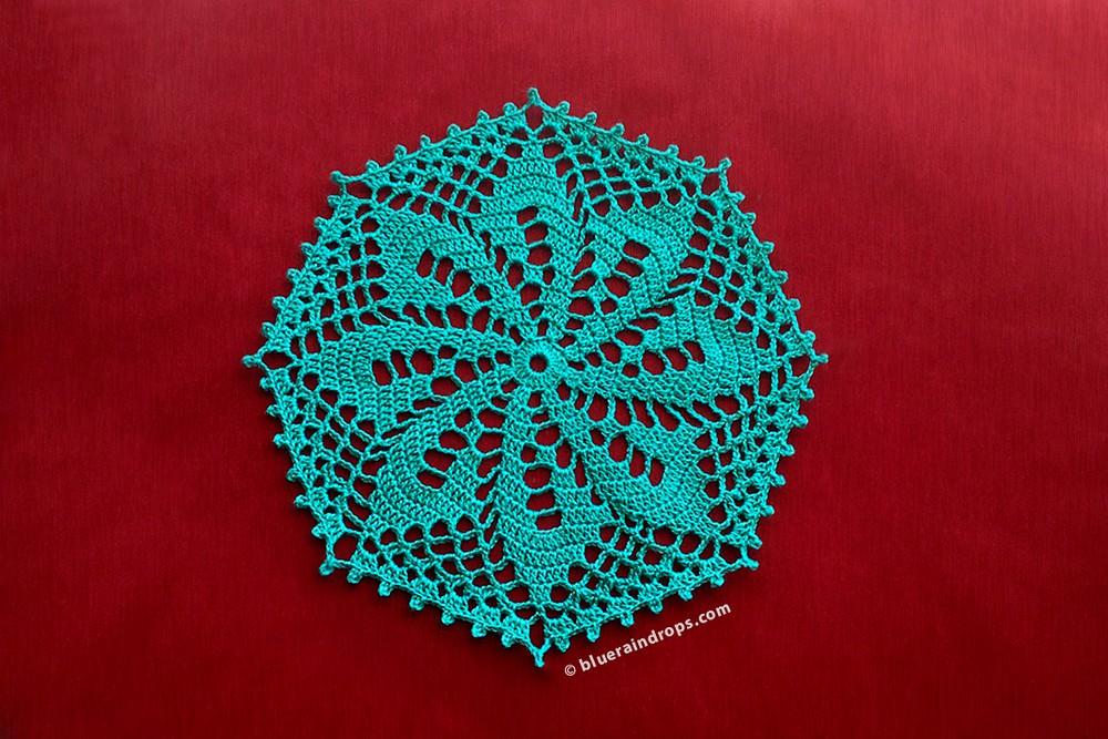 Free Crochet Octagon Doily Pattern