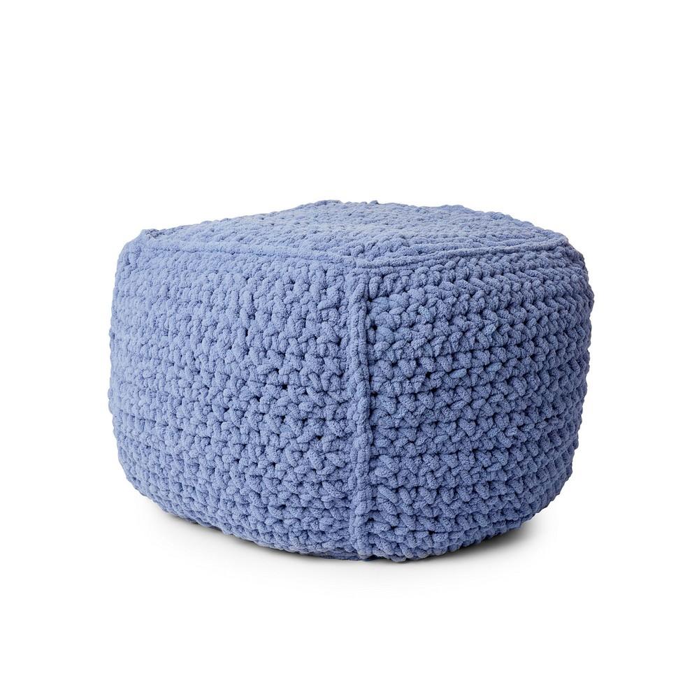 Free Crochet Pouf Pattern