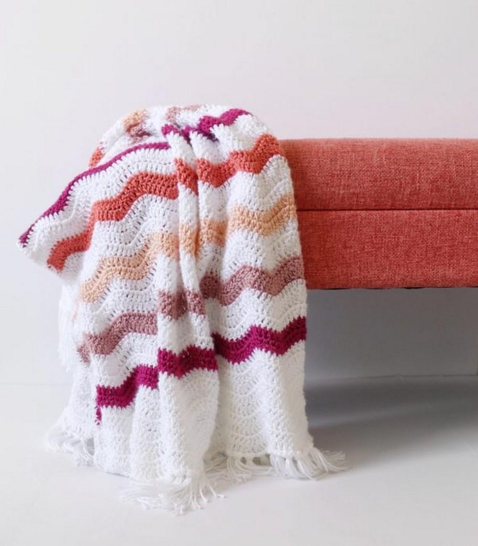 Ripple Blanket Pattern