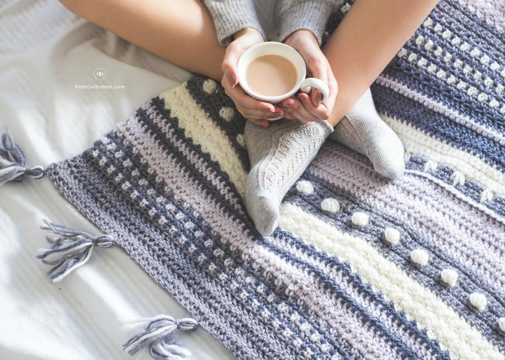 Winter Tempest Blanket Pattern