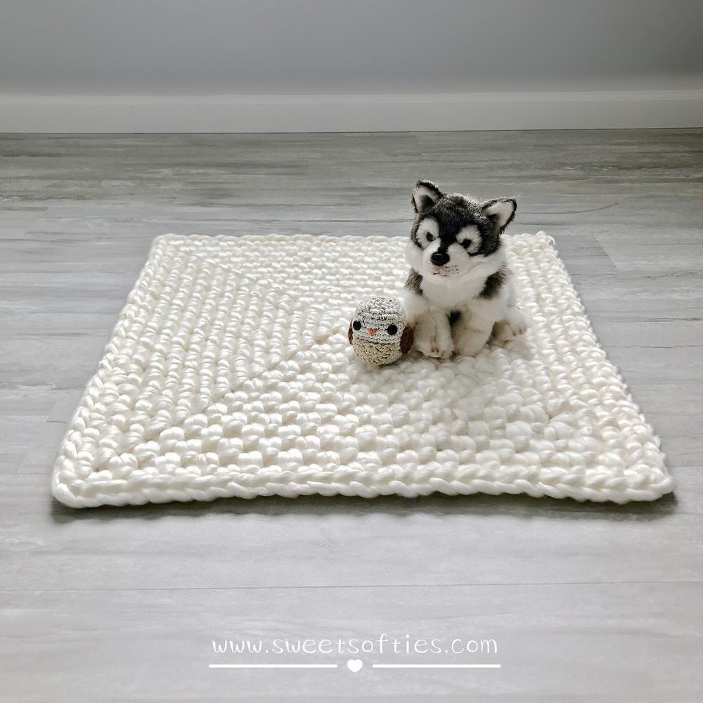 Free Crochet Merry Go Round Rug Pattern