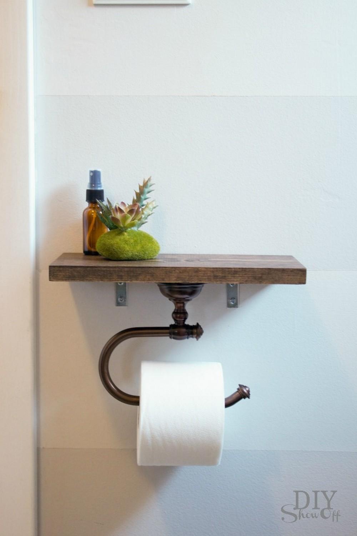 Toilet Paper Holder Shelf