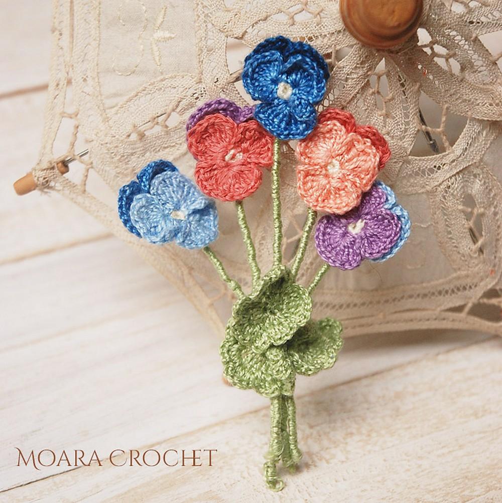 Rochet Pansy Flower