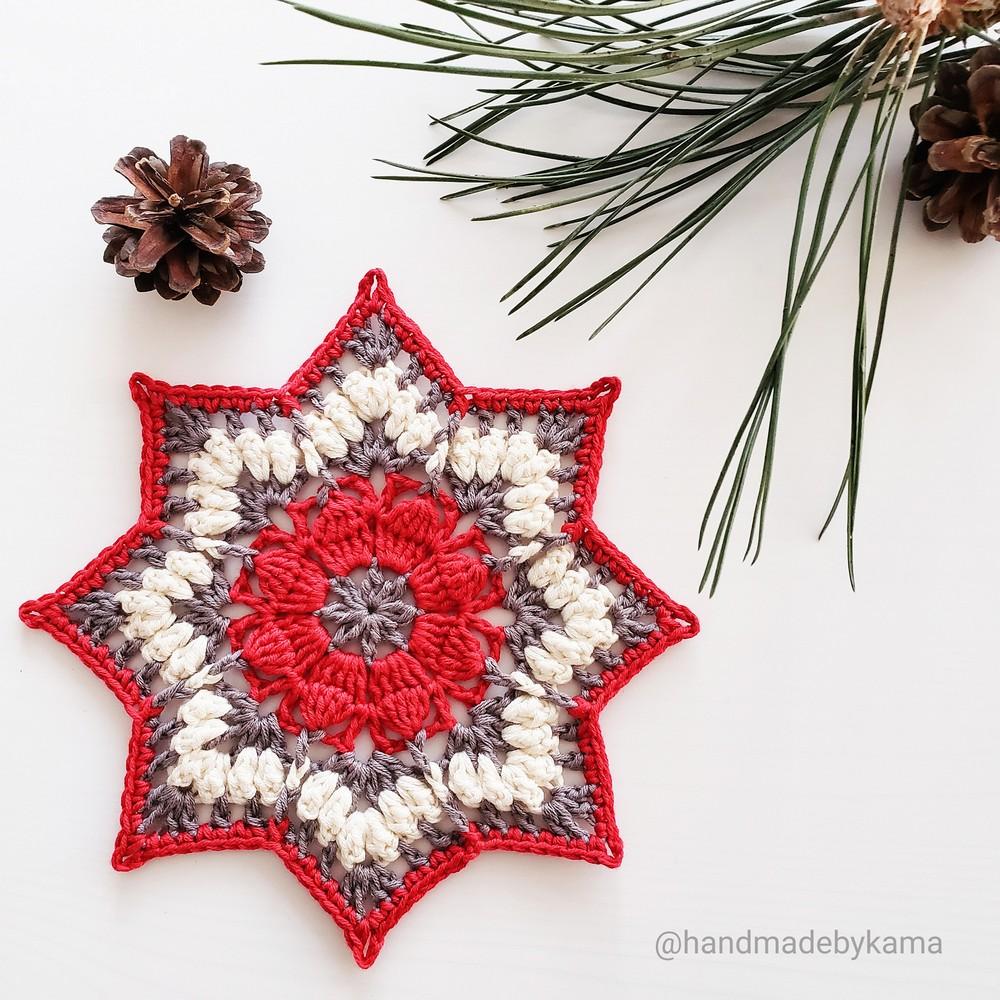 Free Crochet Eureka Mandala Pattern