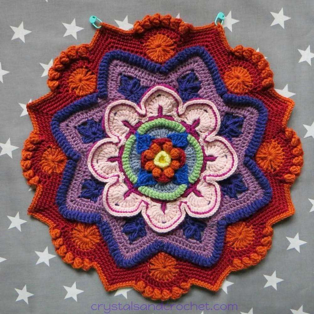 Free Crochet Mandala Madness Pattern