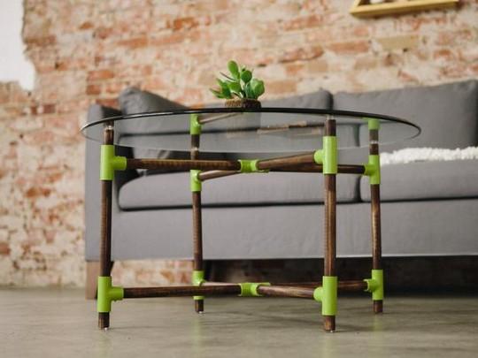 PVC Pipe Coffee Table Idea: