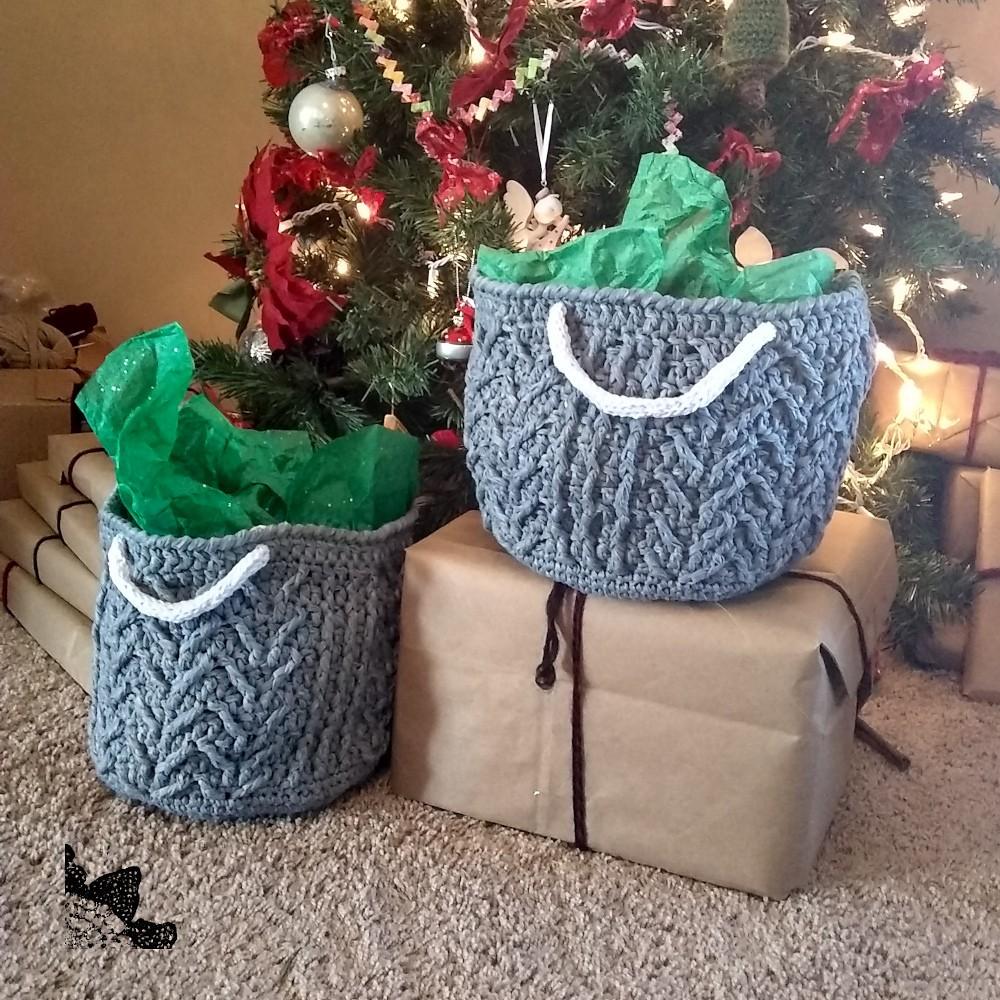 Crochet Winthrop Basket Pattern