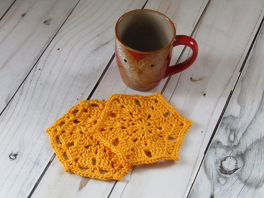 Free Crochet Coaster Trio Pattern
