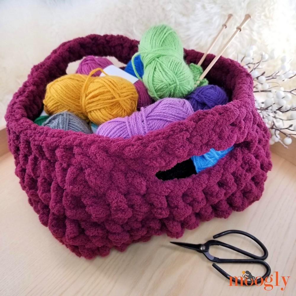 Free Crochet Emergency Basket Pattern