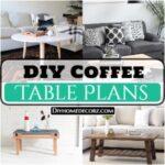 25 Homemade DIY Coffee Table Plans
