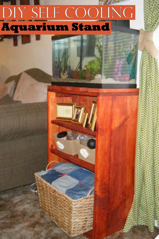 DIY Self Cooling Aquarium Stand
