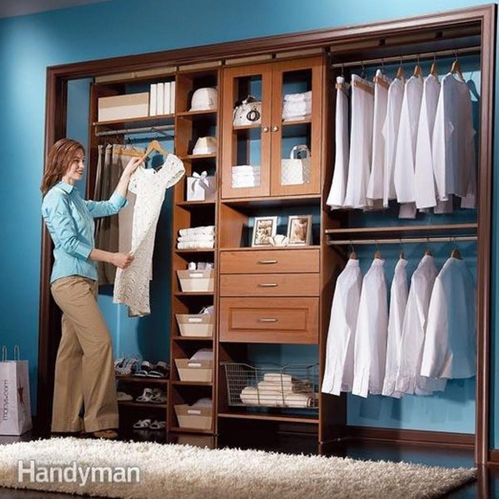 Low-Cost DIY Closet System