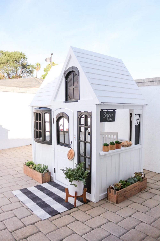 Modern Farmhouse Cottage Playhouse Hack