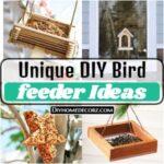 25 Unique DIY Bird feeder Ideas