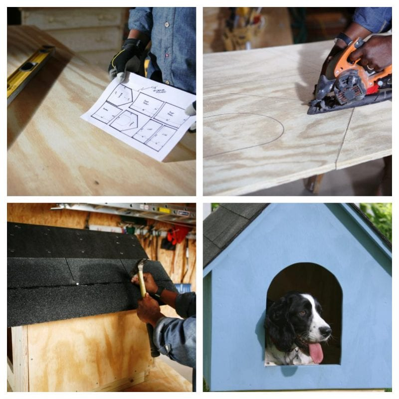 A-Frame Dog House