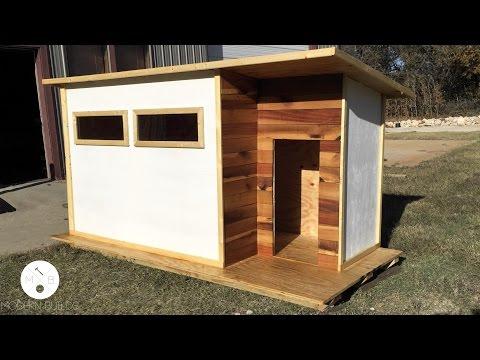 Contemporary modern Dog home idea