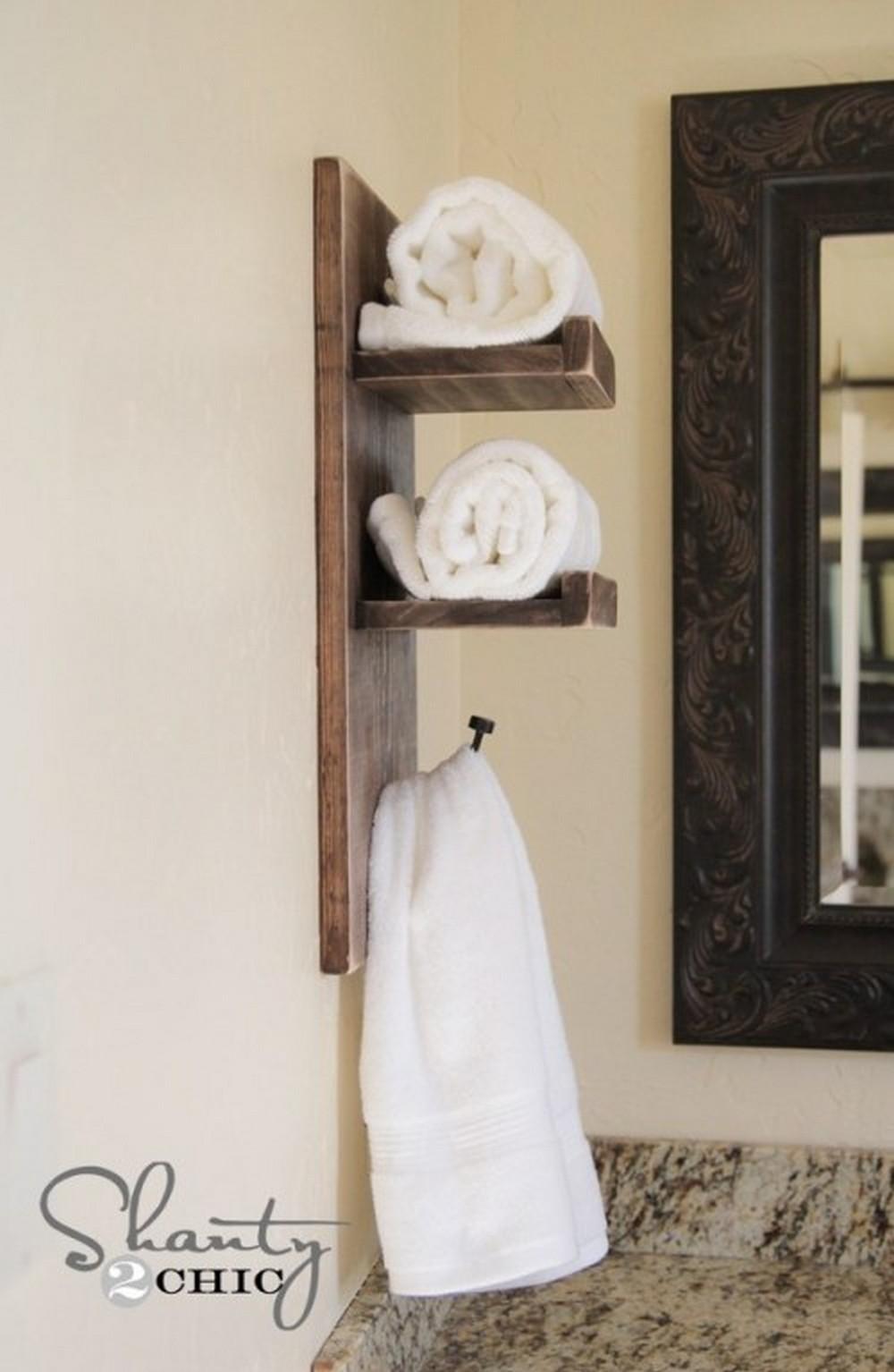Cute DIY Towel Holder
