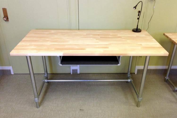 DIY Adjustable Height Standing & Sitting Desk