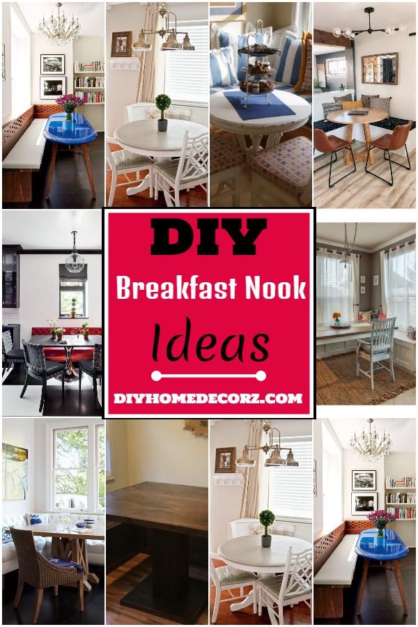 DIY Breakfast Nook Ideas
