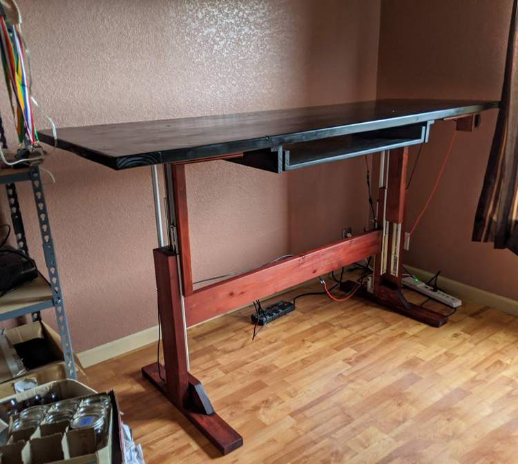 DIY Electric Standing Desk