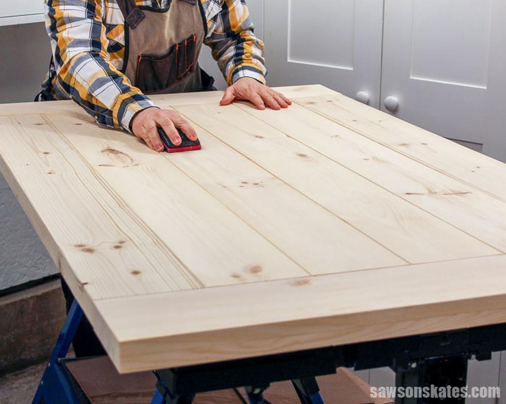DIY Farmhouse Table Top