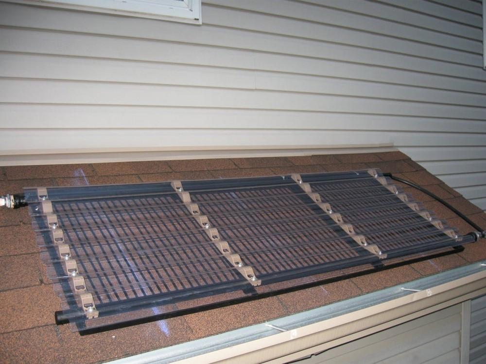 DIY Pool Solar Water Heater
