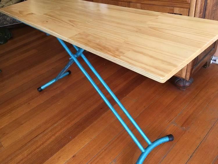 DIY Portable Height Adjustable Desk