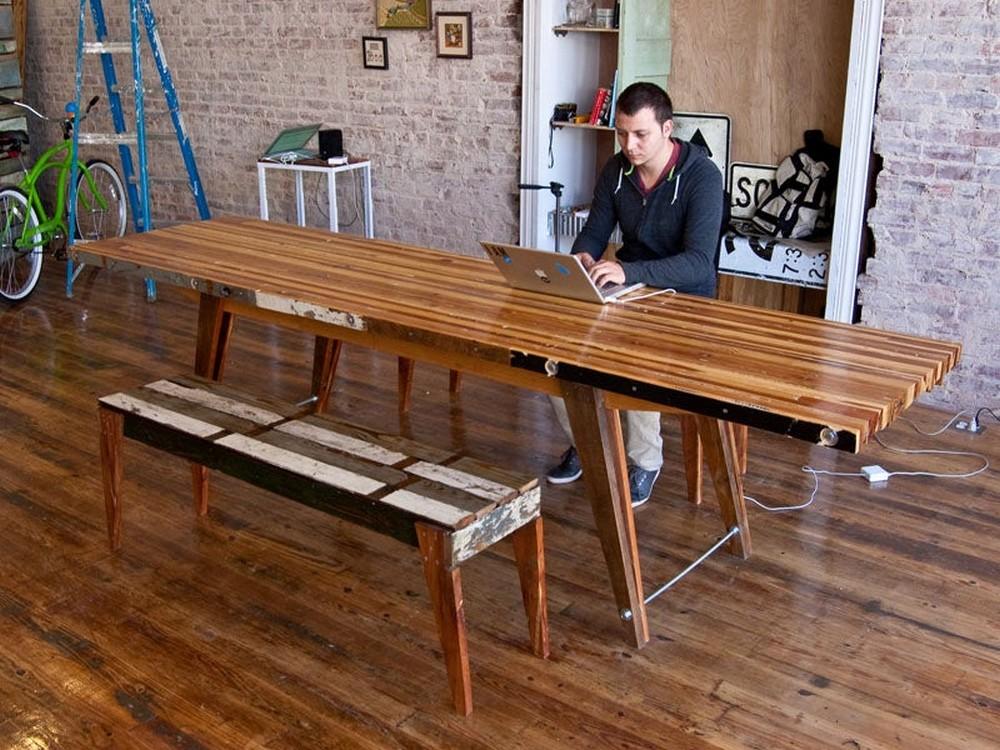 DIY Scrap Table
