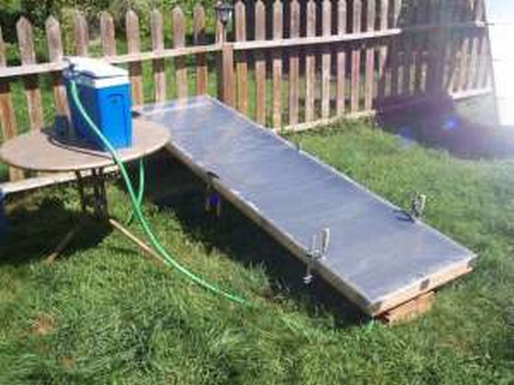 DIY Simple Solar Water Heater