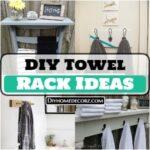 Budget Friendly DIY Towel Rack Ideas