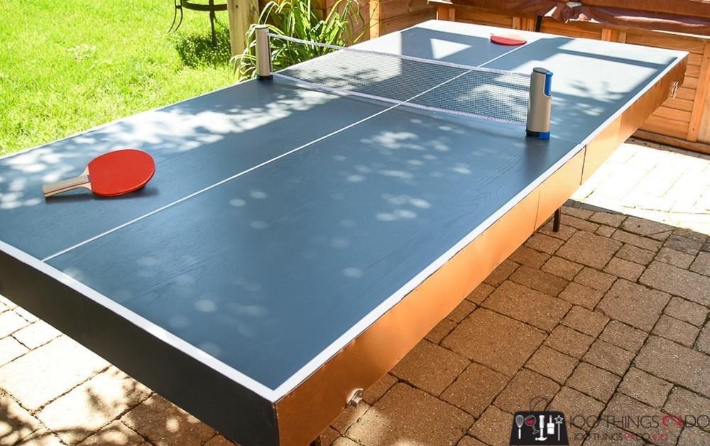 Folding Ping Pong Table