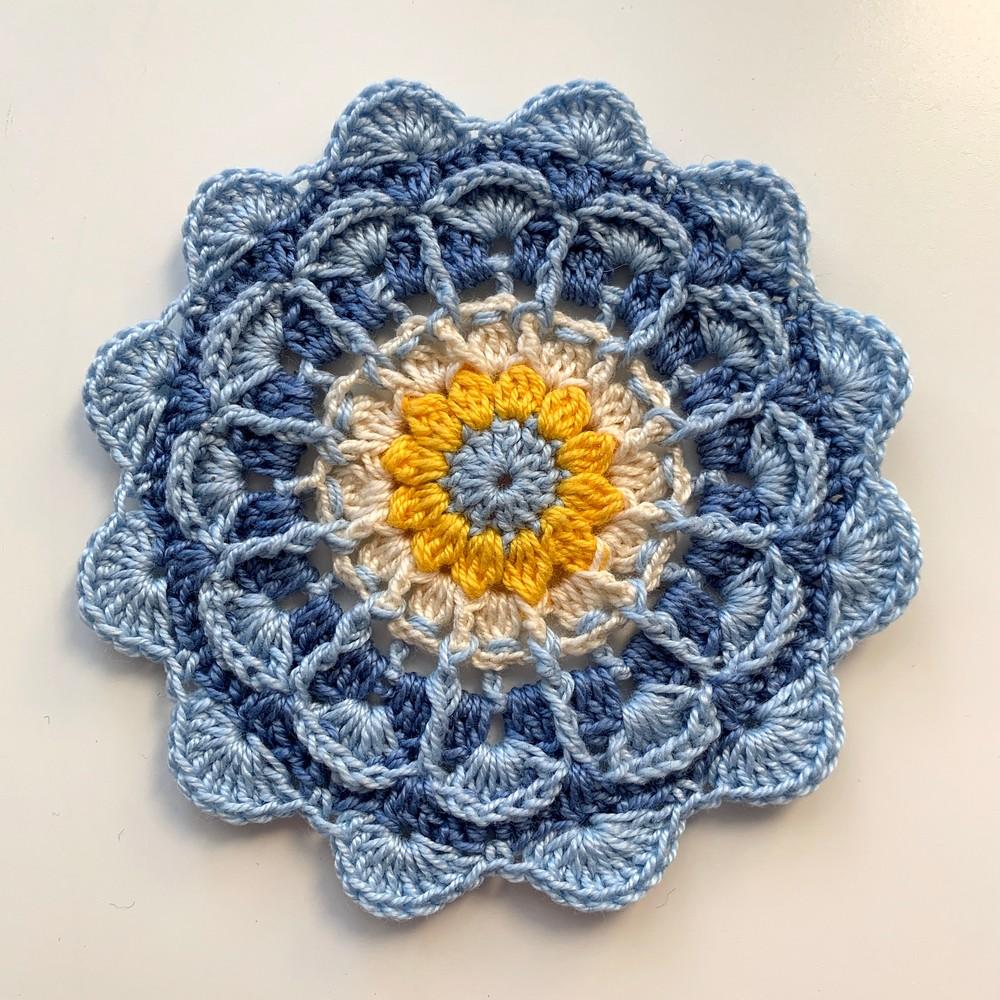 Free Crochet Jaina Mandala Pattern