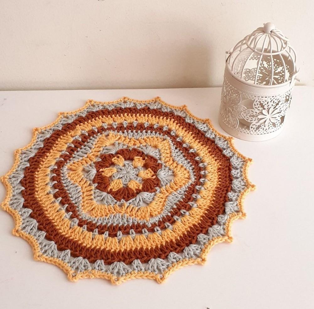 Free Crochet Mandala Narciso Pattern