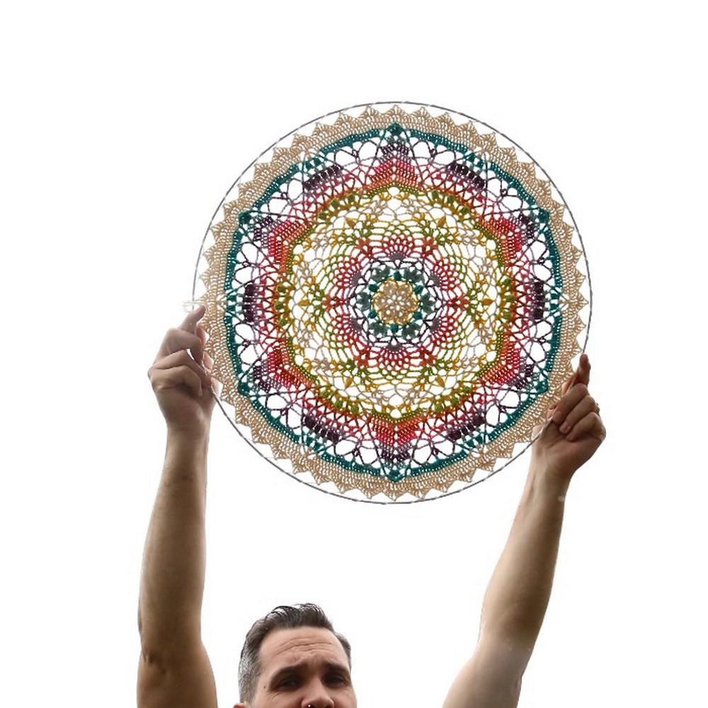 Free Crochet Unseen Mandala Pattern