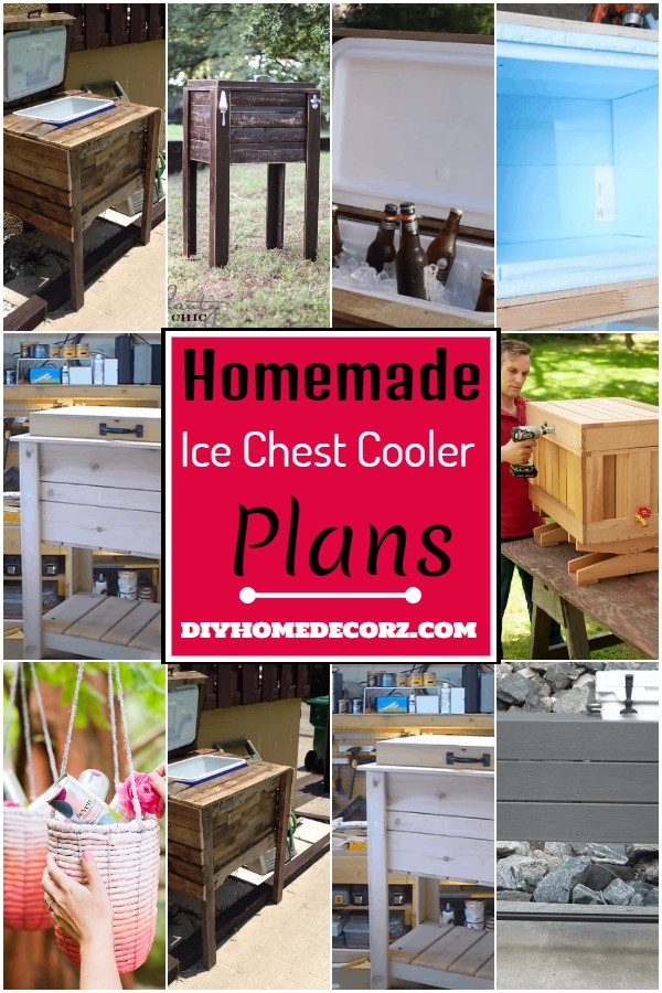 Homemade Ice Chest Cooler Plans 1