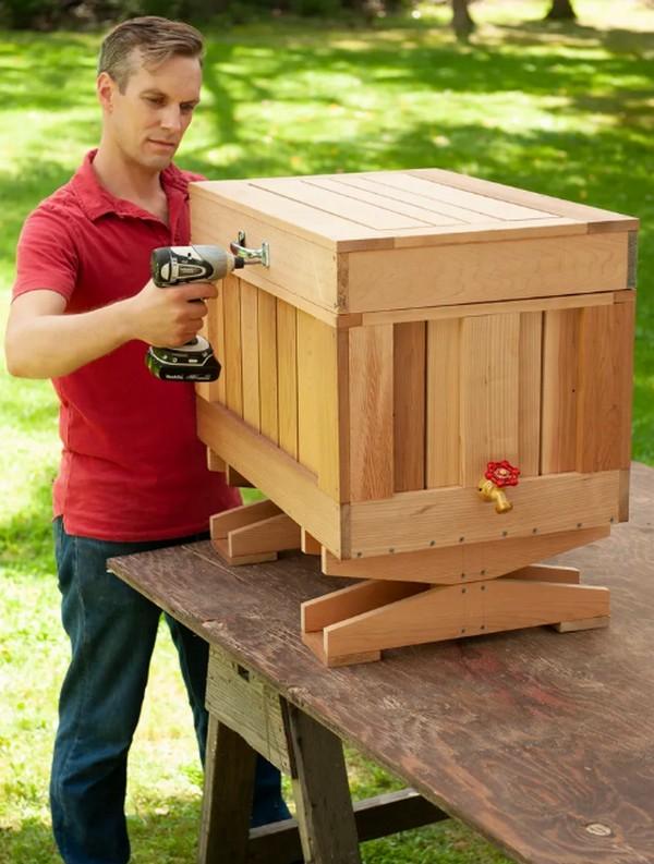 How To Build A Cedar Ice Chest