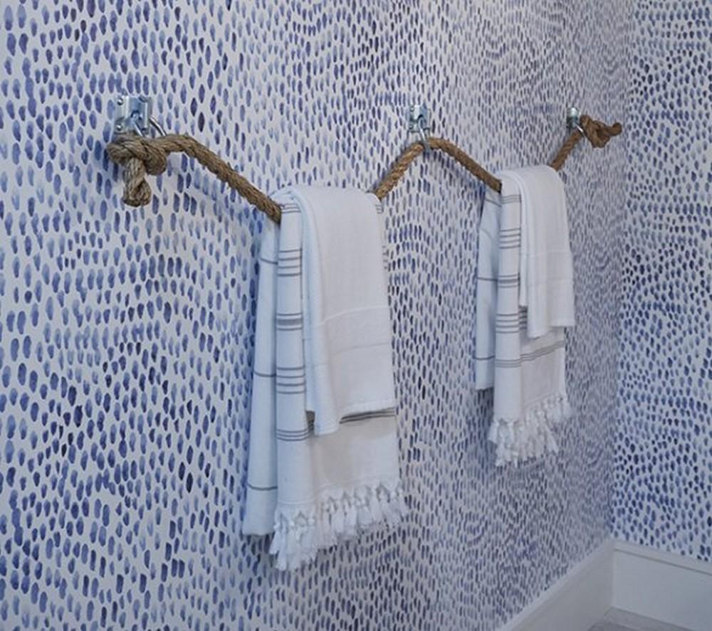 How To Make A DIY Towel Holder