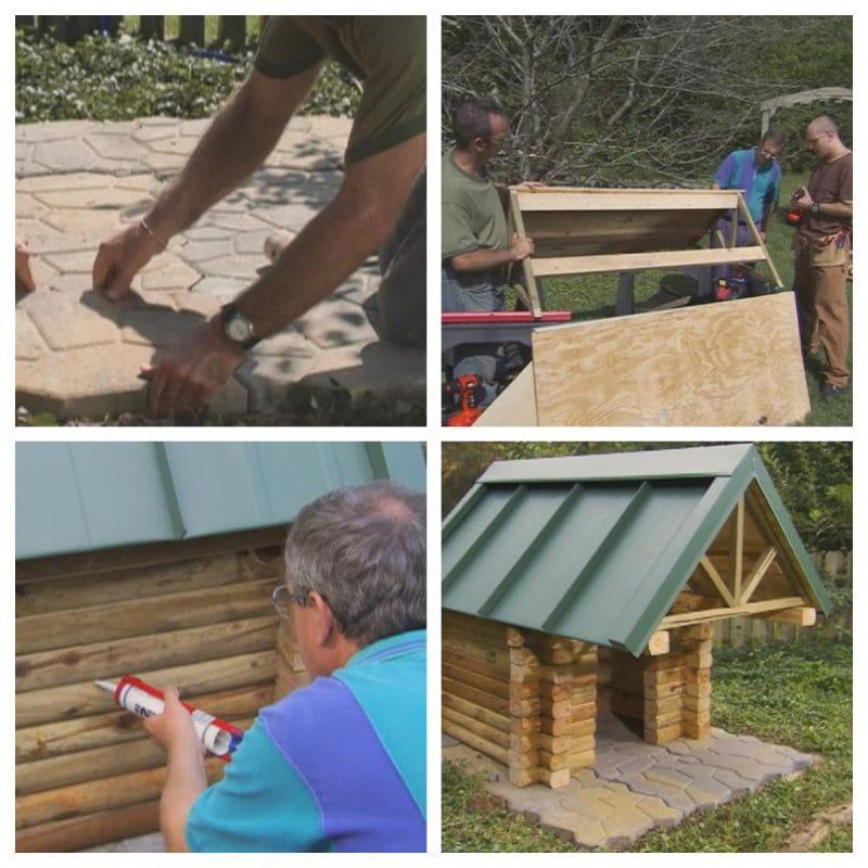 Log Cabin Dog home