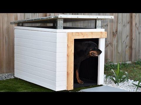 Modern Dog House Plan
